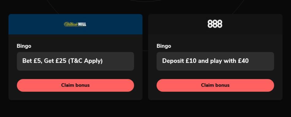 Best Bingo Bonus Codes